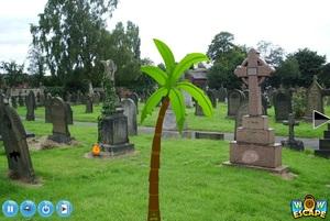 Jouer à Escape your sister from graveyard