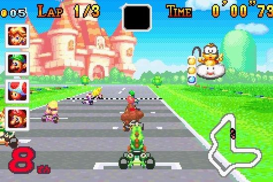 Mario Kart Super circuit ssss
