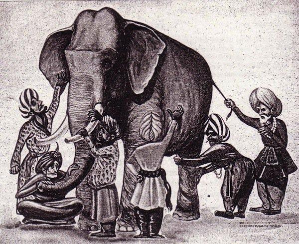 ☯ Les aveugles et l'éléphant
