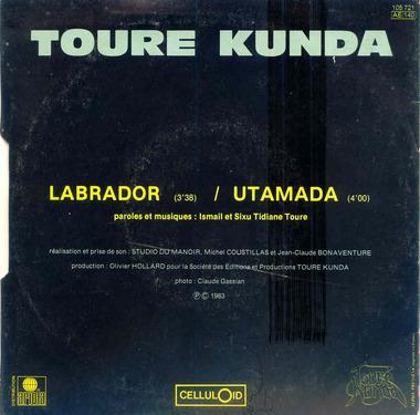 Les SINGLéS # 73 : Toure Kunda - Labrador (1983)