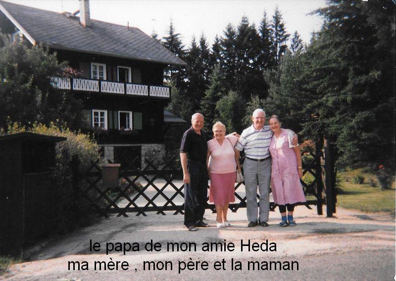 DES ADIEUX  - VISITE AU CHALET DE MON AMIE