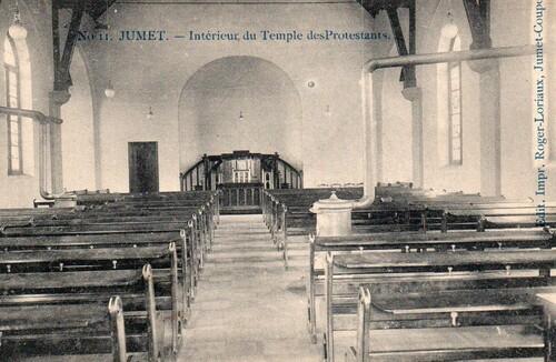 Jumet et son temple protestant