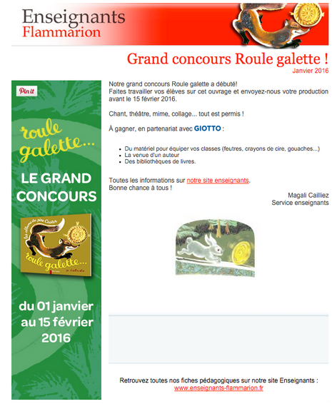Concours Roule Galette