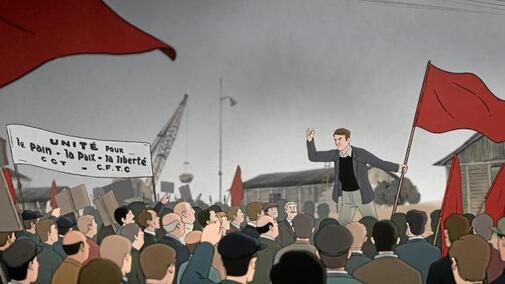 Le film d'animation « Un homme est mort » retrace le mouvement de grève de mars et avril 1950 à Brest.