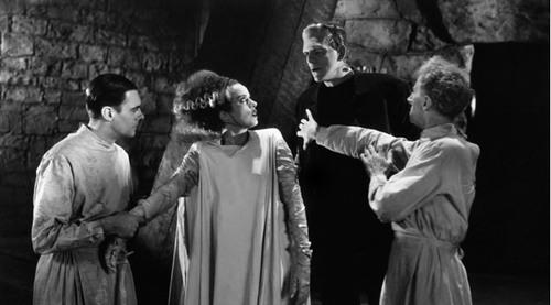 La fiancée de Frankenstein -
