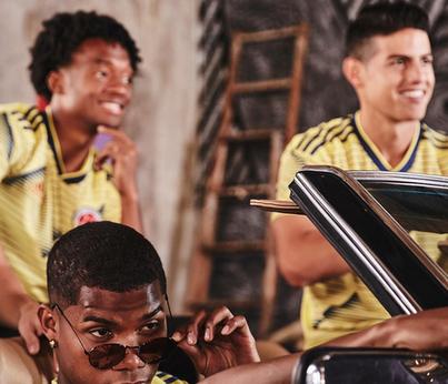 nouveau maillot Colombia Copa América 2019 domicile