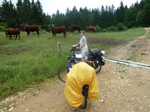 Bourgoin - Mijoux à vélo deuxième partie