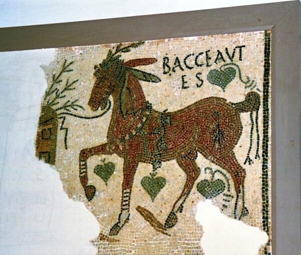 Mosaïques (Musée du Bardo à Tunis)