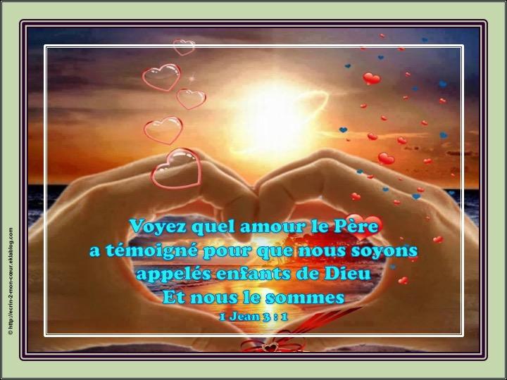 Voyez quel amour le Père a témoigné - 1 Jean 3 : 1