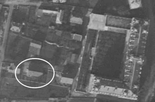 Aix-les-Bains, rue des Antoinistes, actuel Chemin Saint-Exupéry en 1925 (remonterletemps.ign.fr)