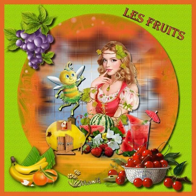 Défi pour Cerise déco ( les fruits )