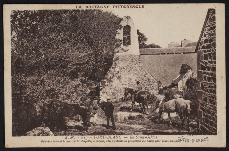 Penvénan, fontaine Saint-Gildas