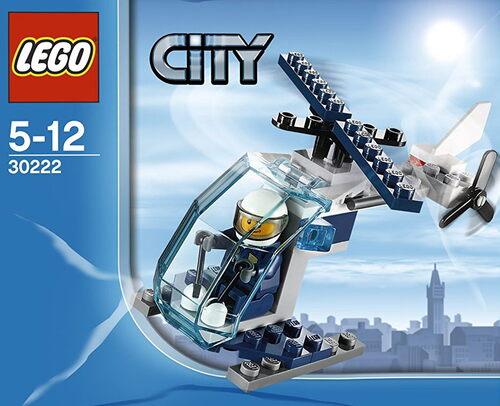 LEGO CITY - Hélicoptère police (33 pièces)