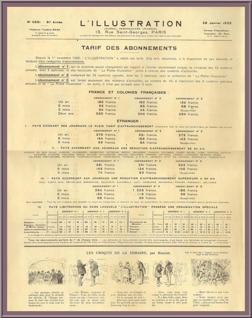 4691 -  28 janvier 1933