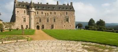le chateau de la roche -jagu