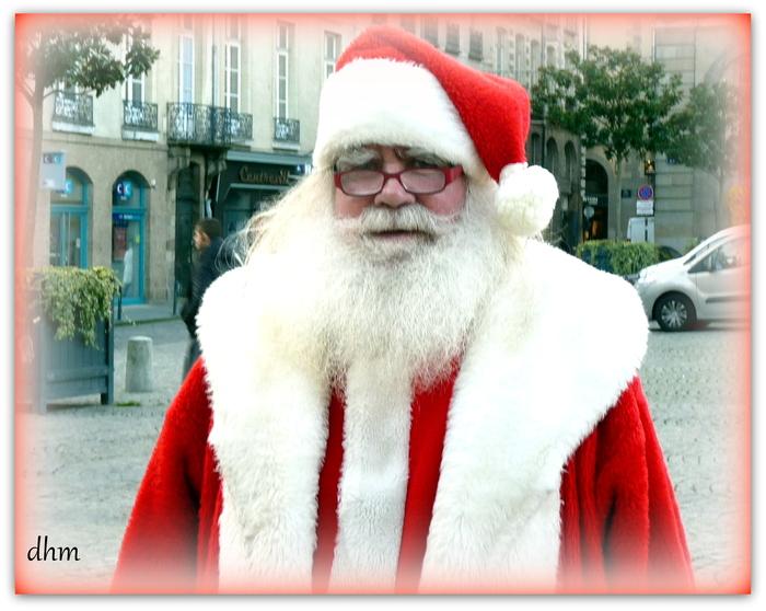 Dans les bras du Père Noël !