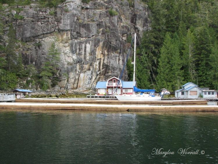 Nouvelles du Canada 121 : Accostage à Echo Bay