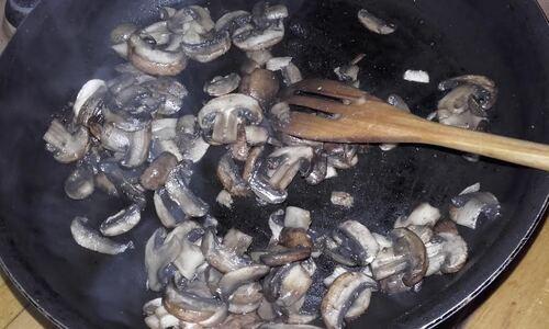 Terrine de lentilles aux champignons {Vegan}