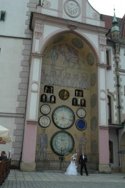 1539 horloge astronomique Place Horni nam Olomouc