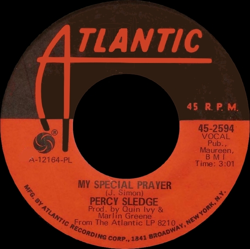 "Percy Sledge : Album "" Wanted "" Atlantic Records ATC 9210 [ ZA ]"