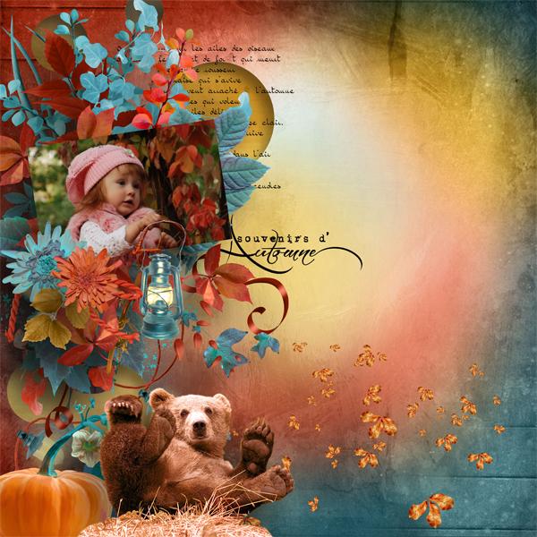 Légende d'automne de Kastagnette.