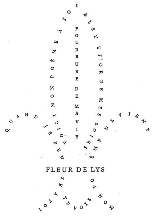 Fleur de lys (Pierre Albert-Birot)