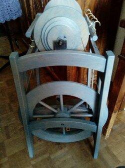 Mon Rouet          Country II      avec une bobine pour 1 kg de Laine Filée !