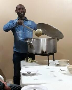 L'harira est servie....