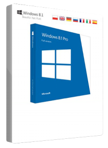 Microsoft Windows 8.1 Professional 32/64 Bit Multilanguage