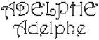 Dictons de la St Adelphe + grille prénom !