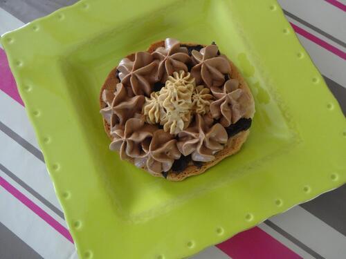 Tartelettes au chocolat et mousses aux pâte à tartiner