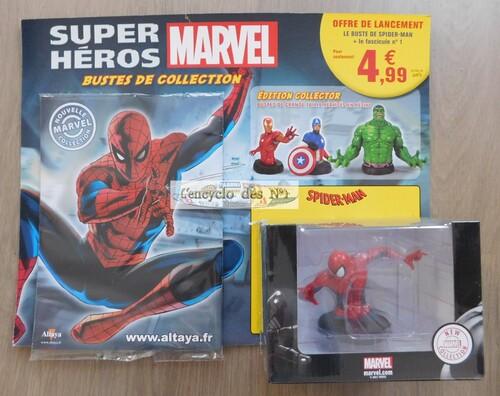 N° 1 Bustes des super-héros Marvel - Lancement