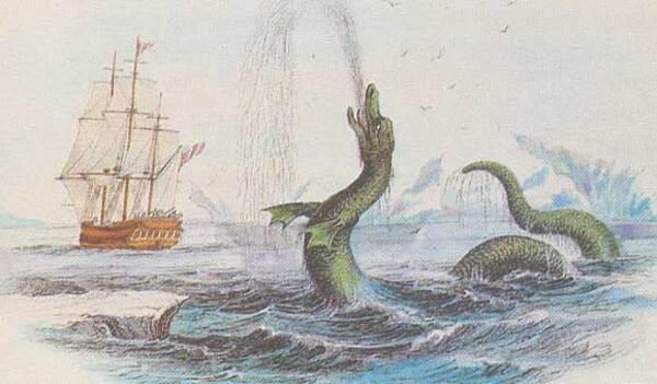 Cryptozoologie:  Monstres aquatiques et marins dans le monde