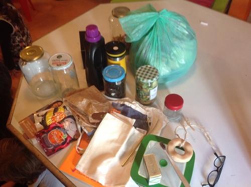 Semaine Bouge ta planète Intervention de Romain et sa maman objectif réduire les déchets à la maison