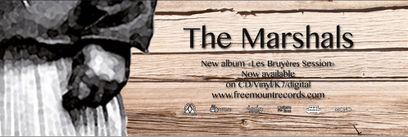 The Marshals - La newsletter du groupe blues/rock français