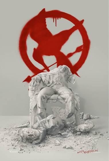 HUNGER GAMES LA REVOLTE – Partie 2, le 18 novembre 2015 au cinéma ! L'escouade 451 prend les armes contre le Président Snow avec une af fiche exclusive !