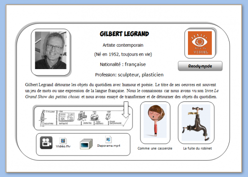 Carte Gilbert Legrand