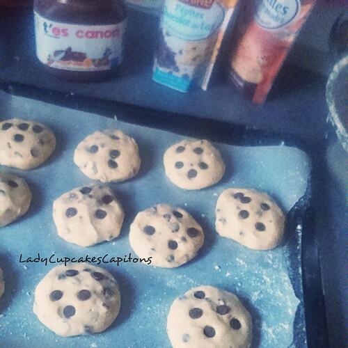 Cookies cœur de Nutella