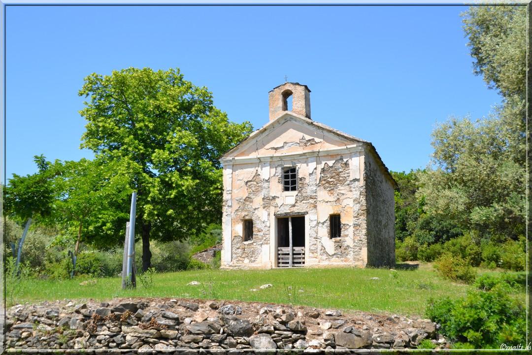 Chapelle San Petru à l'abandon - Pancheraccia - Corse