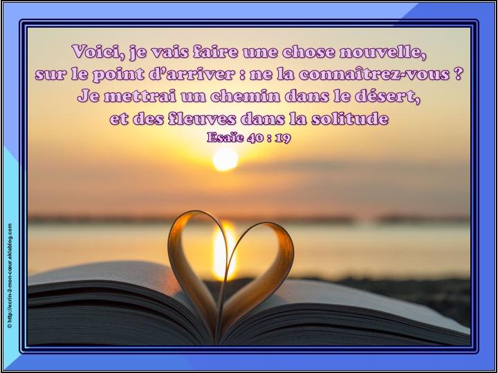 Ronde Versets du coeur 134