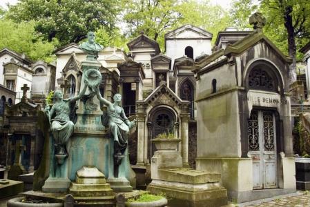 Le cimetière Père Lachaise
