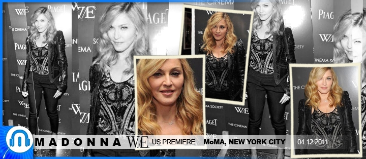 Madonna - W./E. Movie @ MoMA NY