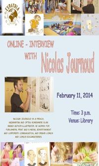 Semaine du Livre: Interview de Nicolas Journoud
