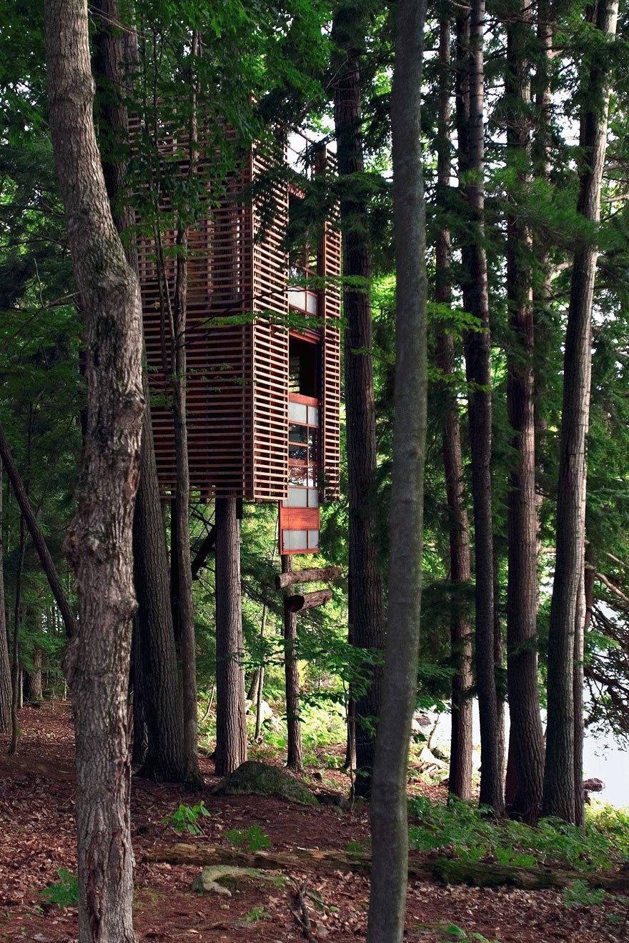 Divertissement 20 des plus spectaculaires cabanes for La plus grande cabane du monde