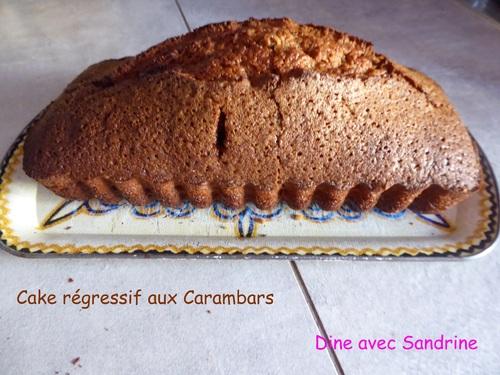 Un Cake régressif aux Carambars