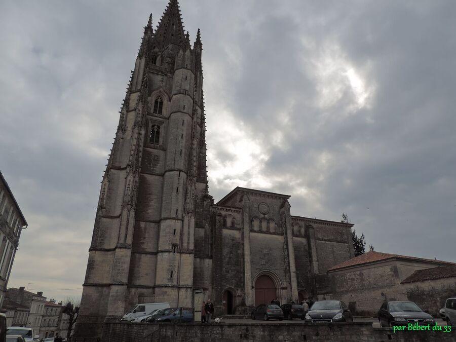 la crypte de St-Eutrope à Saintes