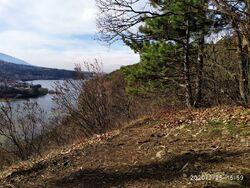 Selfies au lac de Pancharevo