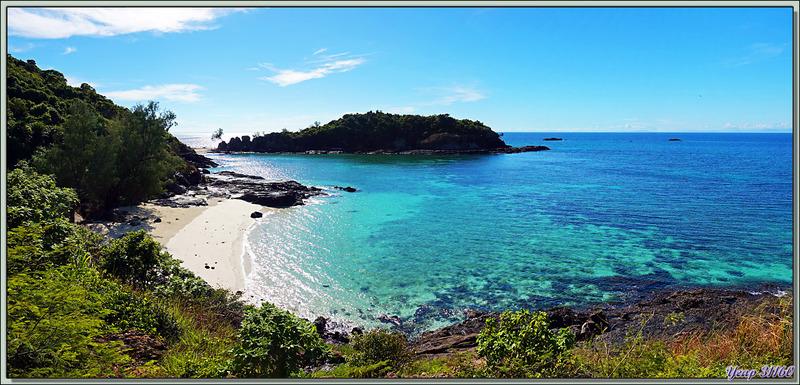 Je ne m'en lasse pas ! La plage sud de Nosy Tsarabanjina au petit matin - Archipel des Mitsio - Madagascar