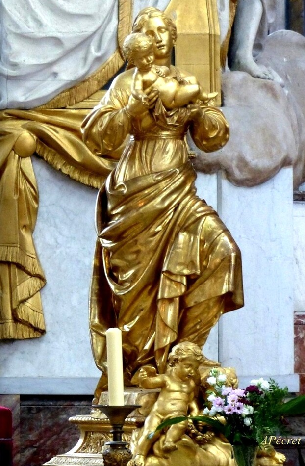Une cathédrale en or