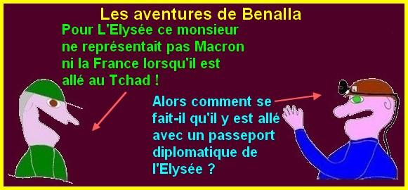 Macron, Benalla et le réveillonce sont les infos du poissonnier.